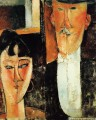 bride and groom the couple Amedeo Modigliani